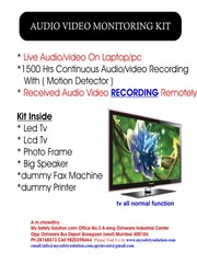 audio video monitor Mumbai