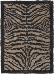 Animal Printed Rugs Amay Cream Brown